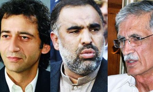Three PTI lawmakers eye chief minister's office
