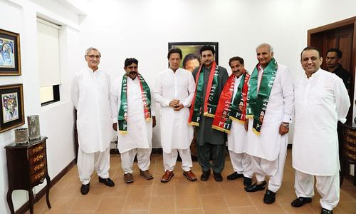 4 independent MPA-elects in Punjab join PTI