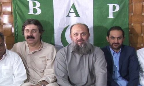 HDP, ANP join hands with BAP to form government in Balochistan