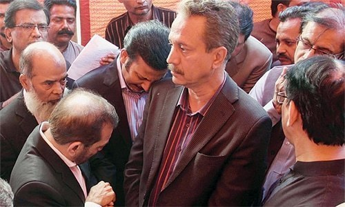 MQM's reckoning?