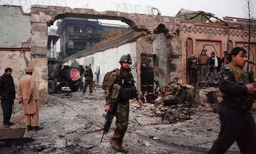 Twin suicide blasts during Friday prayers kill at least 29 in Afghanistan's Paktia province