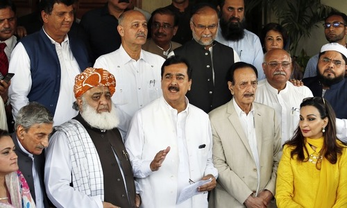 Opposition parties to protest outside ECP on 8th