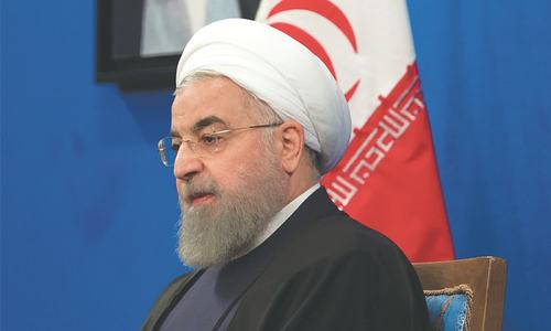Is Iran's Rouhani a lame duck president?