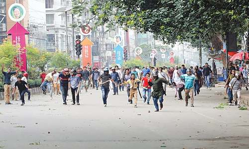 115 students injured in clashes as BD teen protests turn violent
