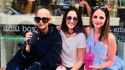 "Sonali Bendre has gone bald and says, ""In this moment I am really happy"""