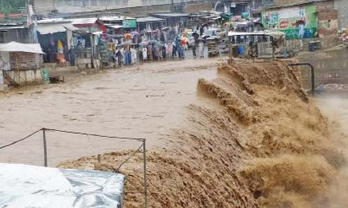 Two killed as heavy rain hits parts of KP