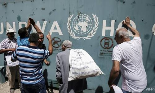 'Mutiny' at UN Palestinian agency in Gaza after job cuts