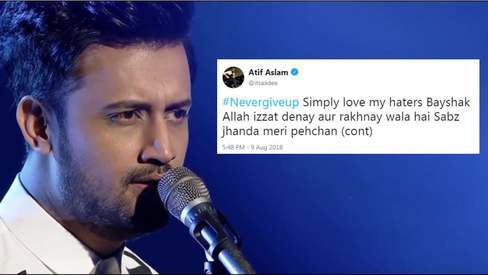 Atif Aslam responds to fake news about 'Independence Day concert'