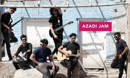 Foodpanda celebrates the spirit of Azadi with Kashmir The Band
