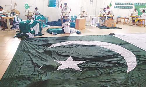Independence day: Printing the green (and white)