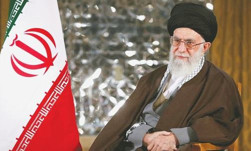 'No war, no negotiations with the US,' says Iran's Khamenei