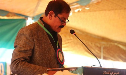 PTI names Mushtaq Ghani for speaker's slot