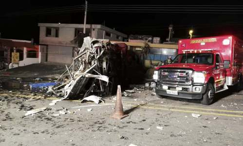 Bus accident in Ecuador kills 24