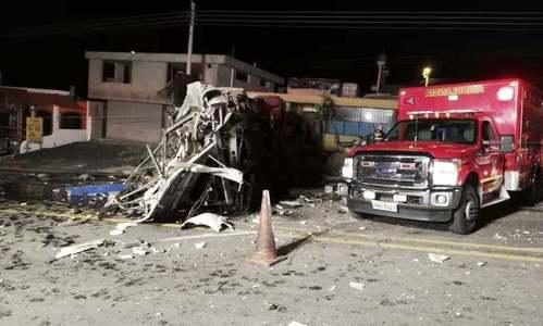 ایکوڈور: بس حادثے میں 24 افراد ہلاک، 18 زخمی