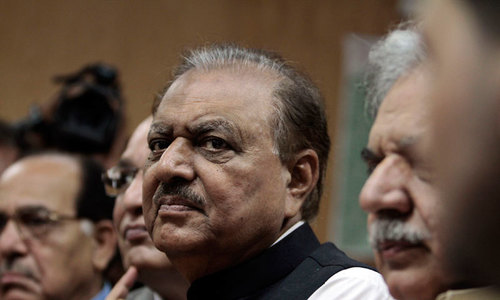 President asks ECP to address 'rigging' concerns