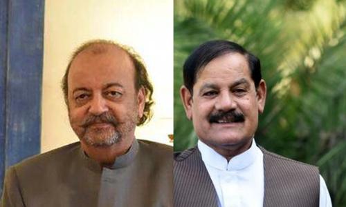 مشتاق غنی اسپیکر خیبرپختونخوا، آغاسراج درانی اسپیکر سندھ اسمبلی منتخب
