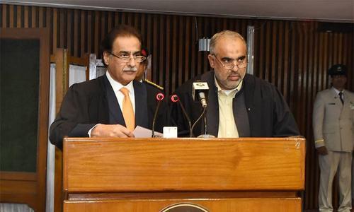 PTI's Asad Qaiser sworn in as NA speaker amid opposition ruckus