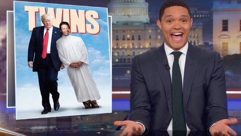 Comedian Trevor Noah thinks IK is basically the Pakistani Trump