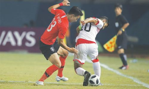 Military precision as Son's Korea march past Bahrain 6-0