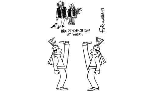 Cartoon: 16 August, 2018