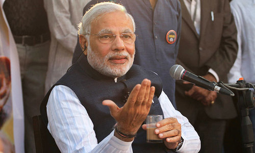 Modi softens rhetoric, calls for embracing Kashmiris