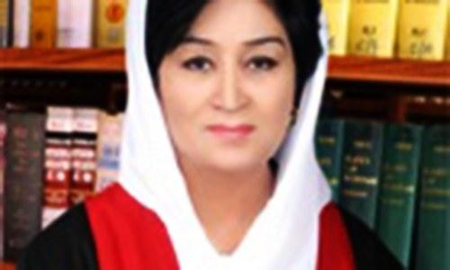 جسٹس مسرت ہلالی الیکشن ٹریبیونل کی پہلی خاتون سربراہ مقرر