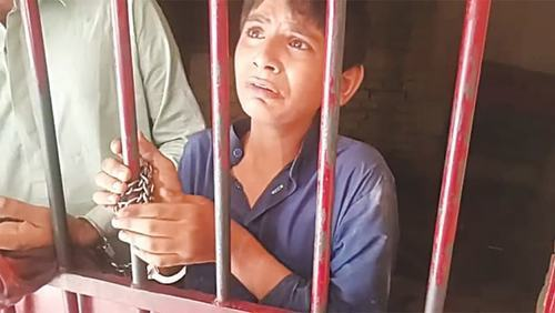 SHO, head constable demoted for keeping minor boy in lock-up