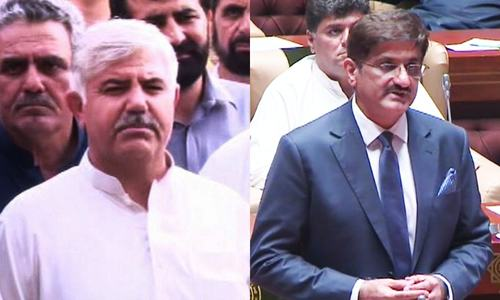 KP, Sindh chief ministers elected; Punjab Assembly elects Elahi speaker in rowdy session