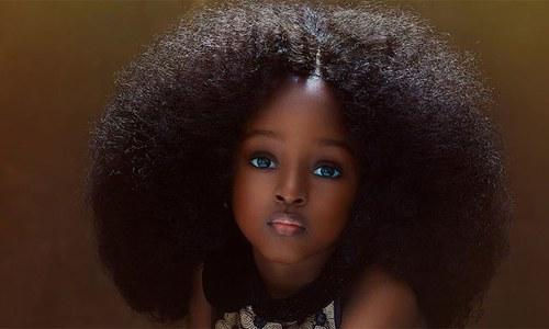 'دنیا کی خوبصورت ترین لڑکی'