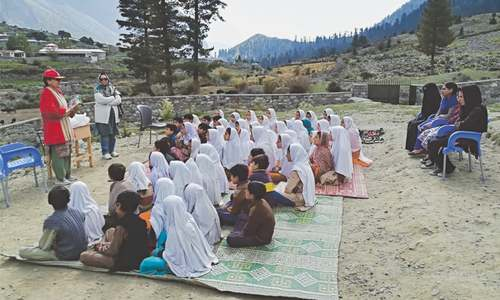 EDUCATION: A SCHOOL IN THE MOUNTAINS