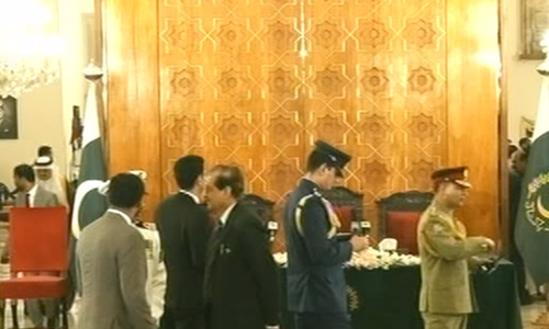 Guests start arriving for Imran Khan's PM oath-taking ceremony