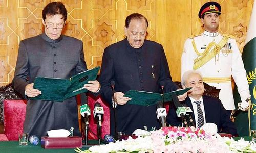 Prime Minister Imran Khan: PTI chairman sworn in as 22nd premier of Pakistan
