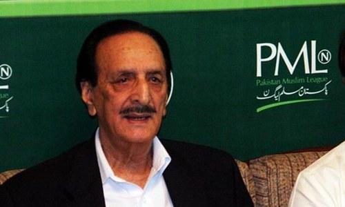مسلم لیگ (ن) کا سینیٹ میں راجا ظفر الحق کو اپوزیشن لیڈر بنانے کا فیصلہ