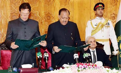 Prime Minister Imran Khan: PTI chairman sworn in as 22nd premier of Pakistan
