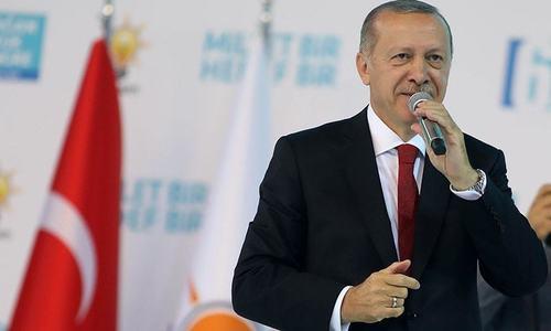 ترکی، امریکی اقدامات سے خوفزدہ نہیں ہوگا، رجب طیب اردوان