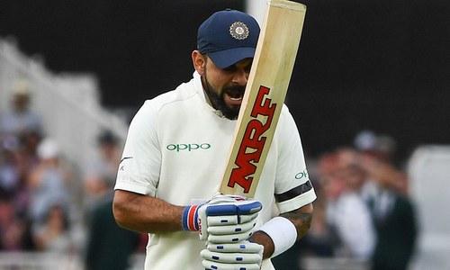 تیسرا ٹیسٹ: بھارت کے انگلینڈ کے خلاف پہلے روز 307 رنز
