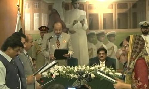 Sindh CM Murad Ali Shah picks his 10-member cabinet