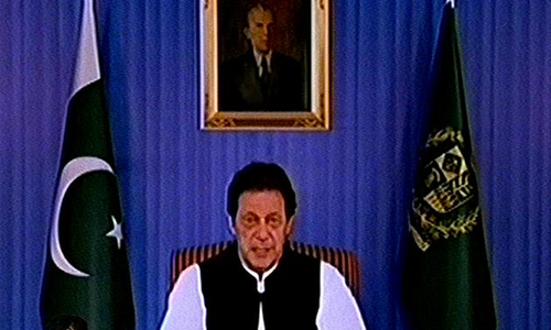 Change to start with me, says Imran Khan in first address as PM