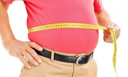 موٹاپے کے شکار افراد میں ہائی بلڈ پریشر کا خطرہ زیادہ