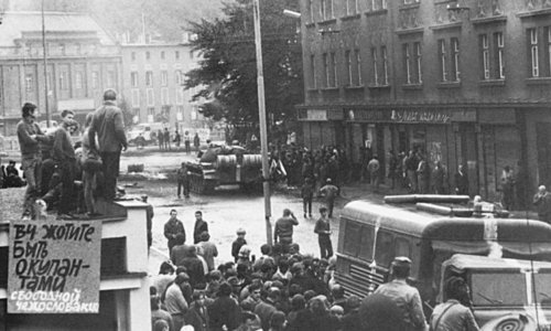 Fifty years ago, Soviet tanks crushed the Prague Spring
