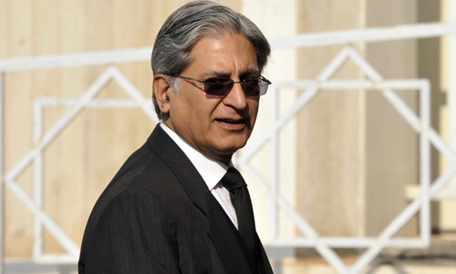 Aitzaz's 'unilateral' nomination for president further divides opposition