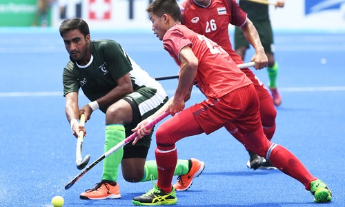 Goals galore as Pakistan thump Thailand 10-0 in Asian Games opener