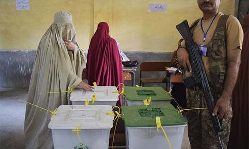 ECP orders re-polls in PK-23 Shangla on September 10