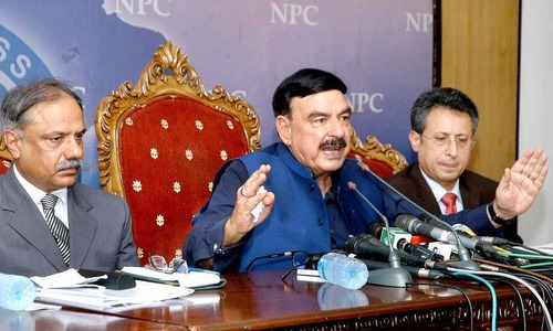 Need 4 months to bring railways back on track, vows Sheikh Rashid
