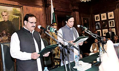 Buzdar sworn in as Punjab CM