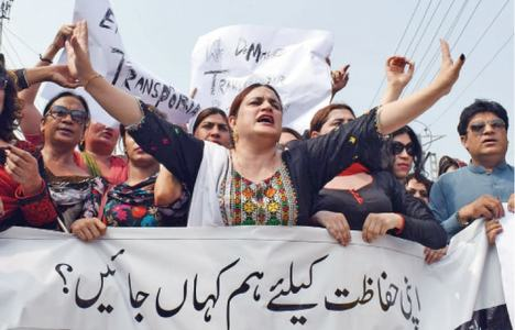 Transgender persons protest violence, hate against them