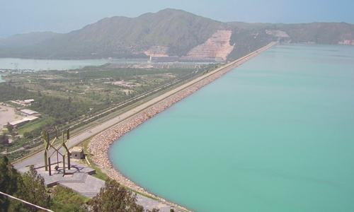 Tarbela finally hits maximum level