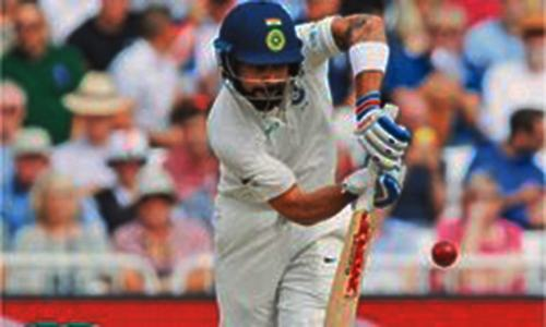 India grind out huge lead in third Test