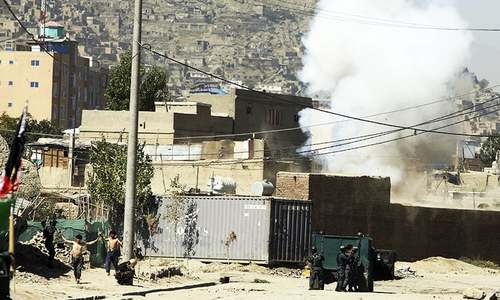 Multiple rockets hit Afghan capital, clashes underway: officials