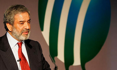Ehsan Mani lauds Najam Sethi's services for cricket in Pakistan